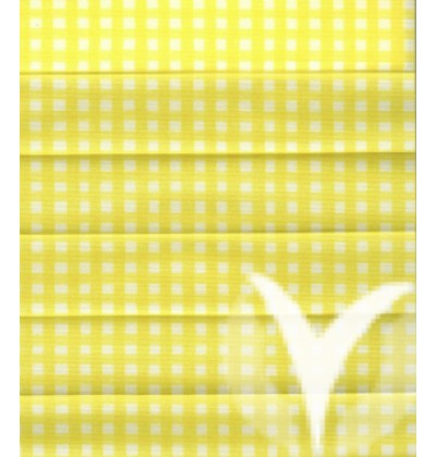 Checked Pearl yellow 411-2843