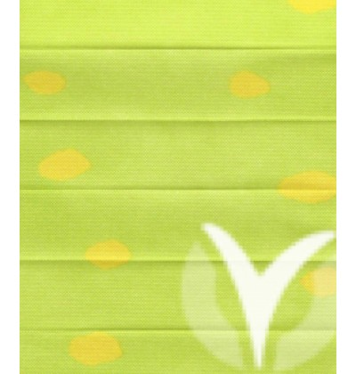 Dots Pearl green yellow 411-2873